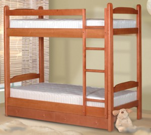 Недорогая двухъярусная кровать