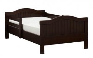 Детская кровать с двумя спинками