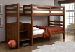 Практичная двухъярусная кровать