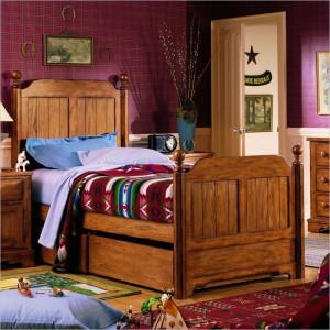 Детская кровать в англо-саксонском стиле