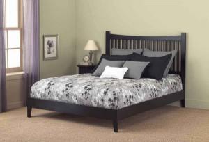 Недорогая и стильная кровать
